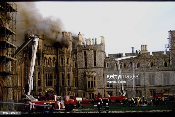 Fire At Windsor Castle