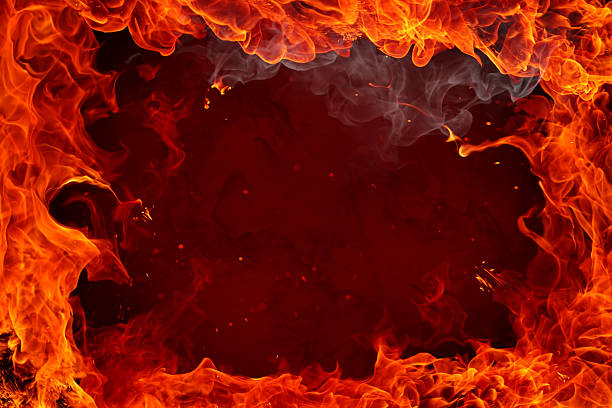Free fire flame for background images pictures and royalty free fire background with flames around edges voltagebd Images
