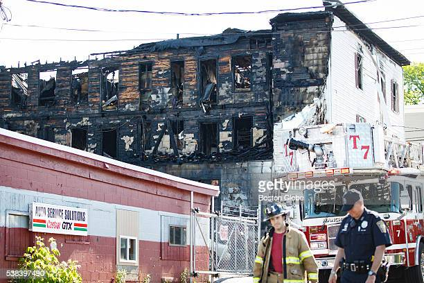 A fire broke out early Monday June 6 in a mixeduse building in Manchester NH leaving four people dead and a firefighter injured