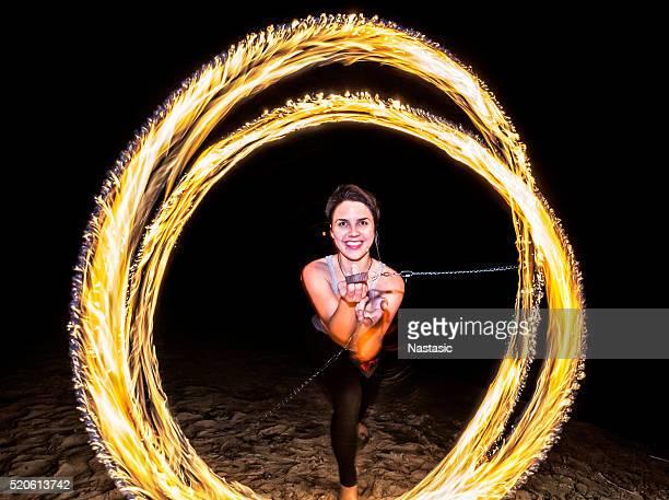 Danseur de feu