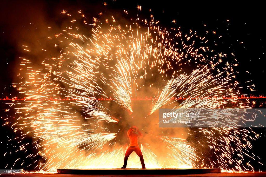 Closing Ceremony: Baku 2015 - 1st European Games : News Photo