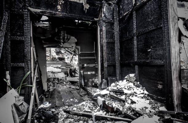 Fire Destruction Burned Building Insurance
