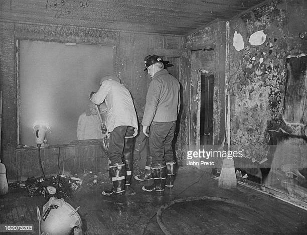 JAN 6 1973 JAN 7 1973 Fire Does Heavy Damage To Home Saturday A propane heater left too close to the wooden framing of an enclosed patio was cited as...