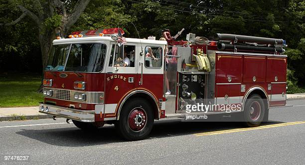 fire engine 4 - firetruck stock photos and pictures