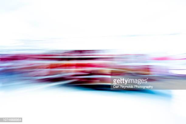 fire engine motion blur rescue service - graphic accident photos stock photos and pictures