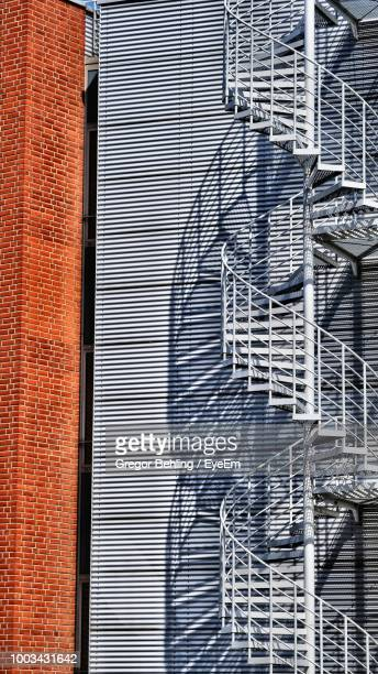 Fire Escape On Building Wall