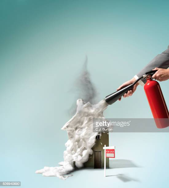 Fire extinguisher for house