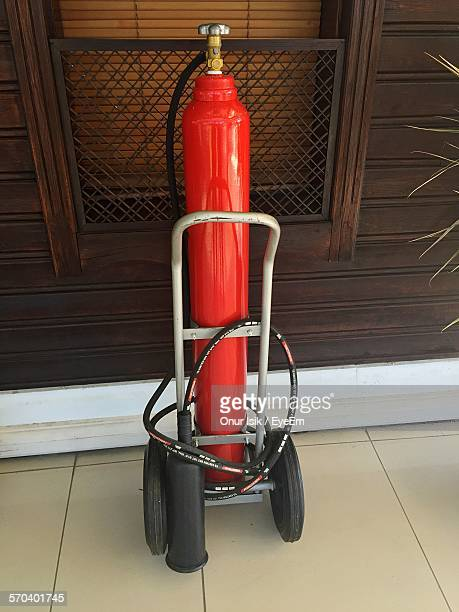 Fire Extinguisher Outside House