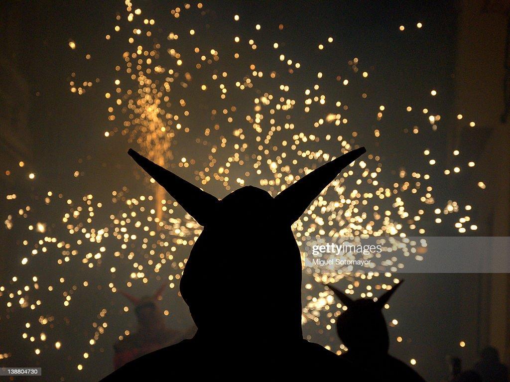 Fire festival : Stock Photo