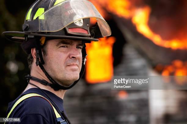 Firefighter de travail