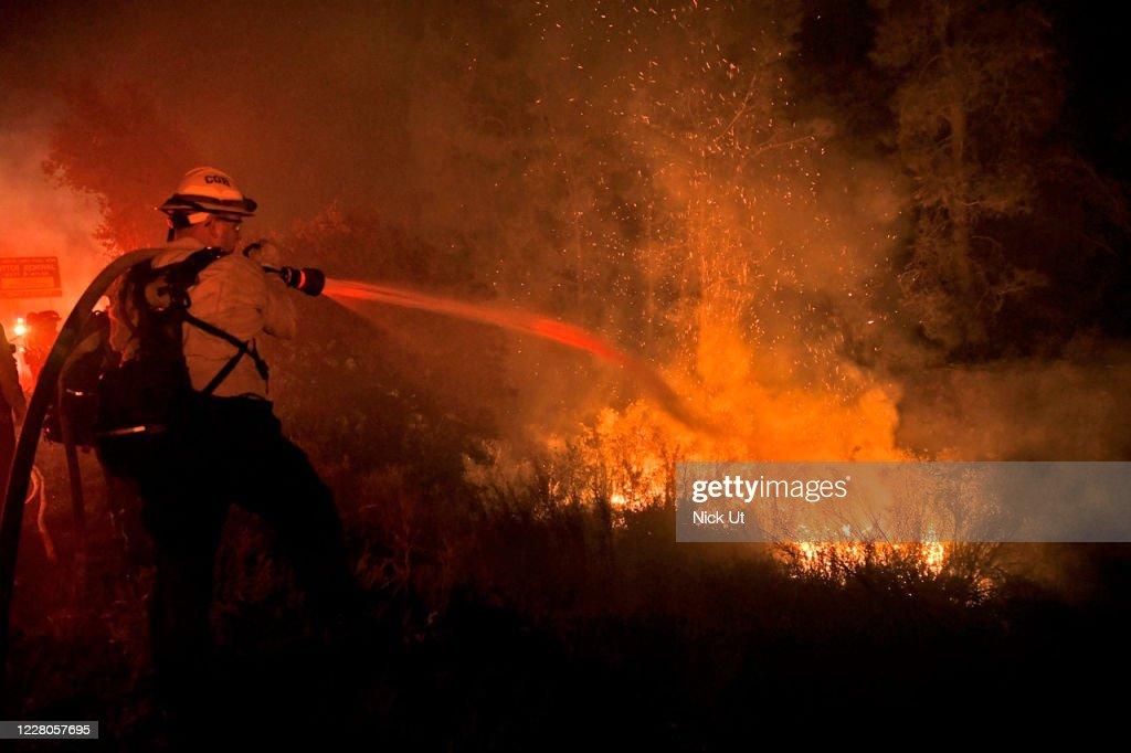 Lake Fire : News Photo
