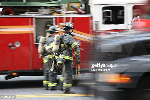 Fire Fighters in New York City