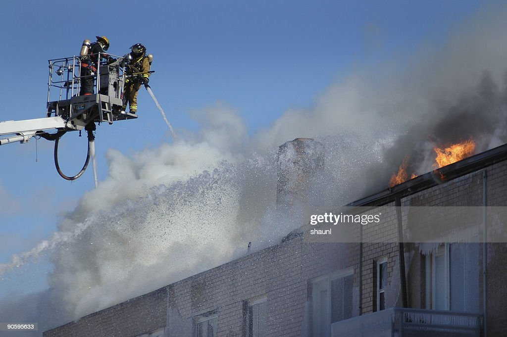 Fire Fighting : Stock Photo