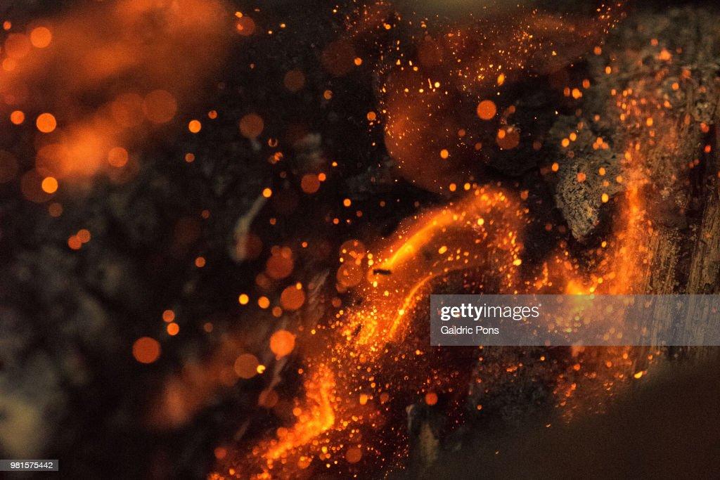 Fire Flam : ストックフォト