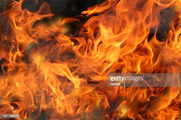 暖炉の炎や煙 - 煉獄 ストックフォトと画像