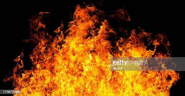 fire flames - fire stock photos and pictures
