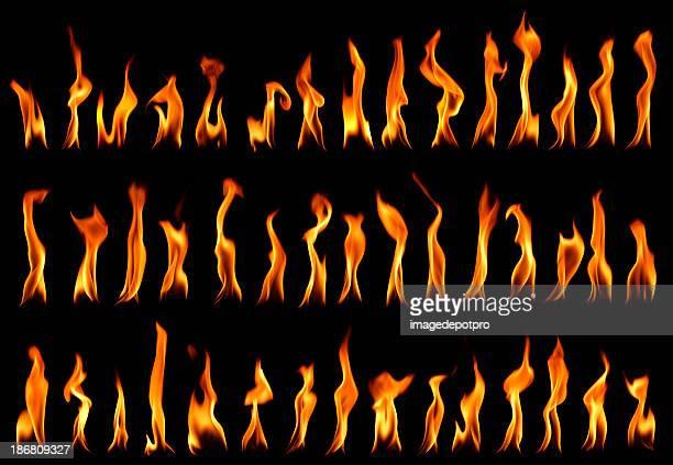 fire llamas - charity benefit fotografías e imágenes de stock