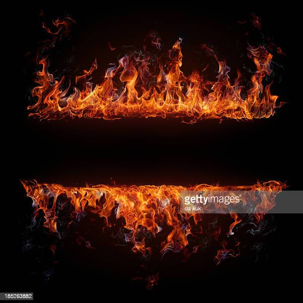 fire frame - fire natural phenomenon stock pictures, royalty-free photos & images