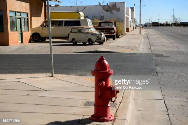 Fire hydrant at Winslow, Arizona, USA