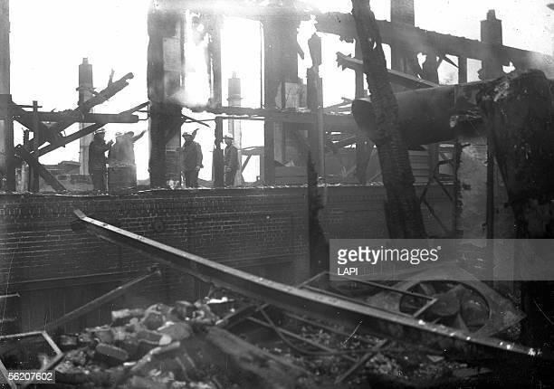 Fire in SaintDenis December 1940