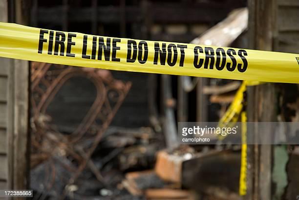 Online-Feuer zerstört Hause