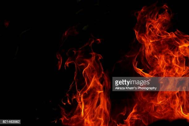 fire of the hell - hell stock pictures, royalty-free photos & images