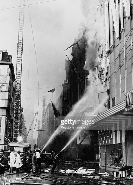 Fire Of The Innovation Building At Rue Neuve In Brussels On 23Rd May 1967