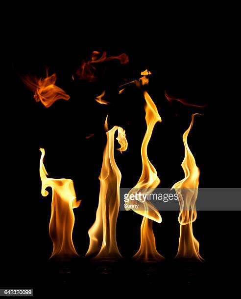 fire - the four elements stock pictures, royalty-free photos & images