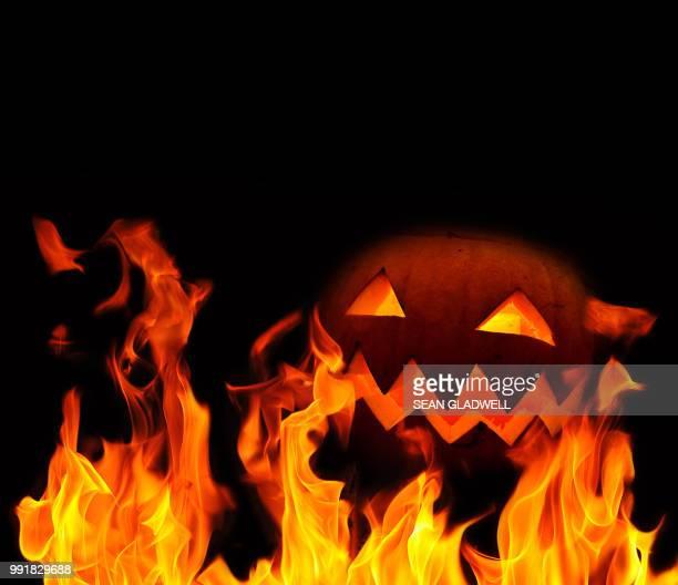 Fire pumpkin