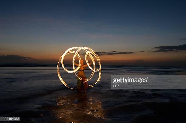 Fogo Mostrar em Bali
