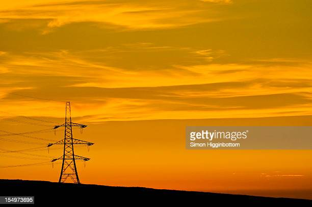 fire sky, west yorkshire - simon higginbottom stock pictures, royalty-free photos & images