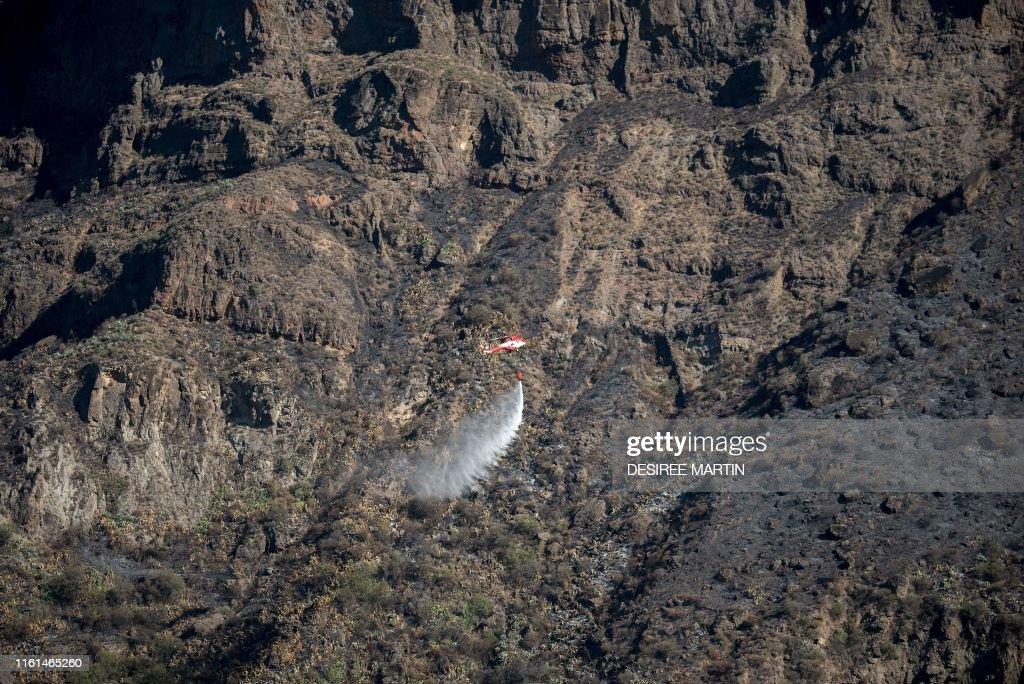 SPAIN-FIRE : News Photo