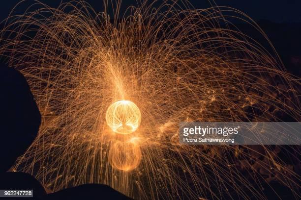 Fire steel wool