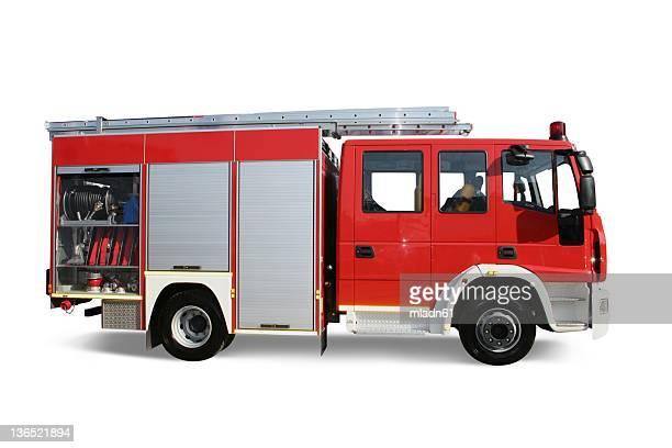 caminhão de bombeiros - carro de bombeiro - fotografias e filmes do acervo