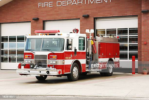 fire truck - firetruck stock photos and pictures