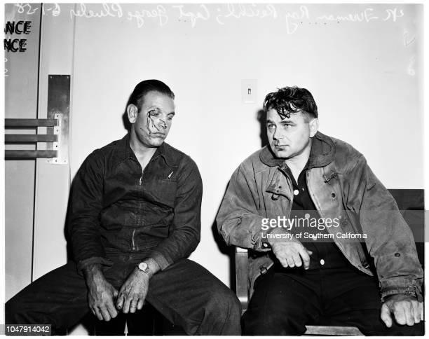 Fire trucks collide 1 June 1958 Doctor CH LinsleyEvelyn Keel Angelo Zuliani Edith Torres 14 yearsMrs Henrietta Torres Ray Reichel Captain George...