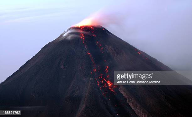 fire, volcano eruption - lava stock pictures, royalty-free photos & images