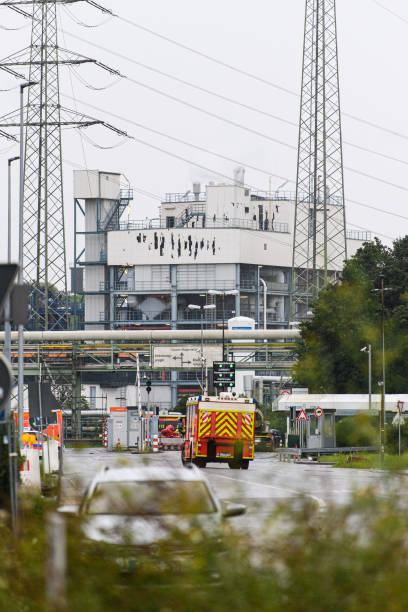 DEU: Bayer Chemical Plant Explosion Aftermath