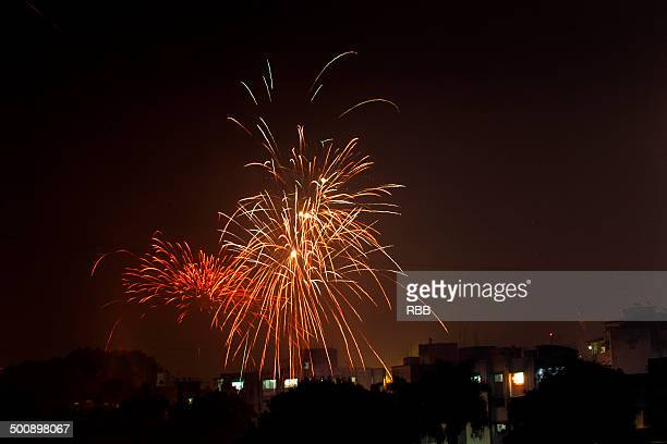 Fire Works during Deewali