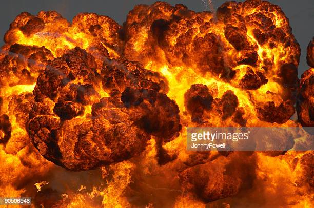 fireball - explosives stock photos and pictures