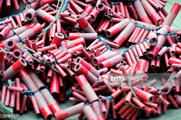 firecrackers - ken ilio stock pictures, royalty-free photos & images