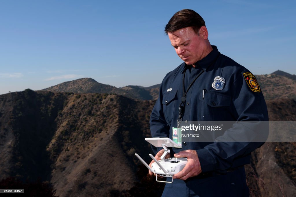 Drones Used in Firefighting in Los Angeles