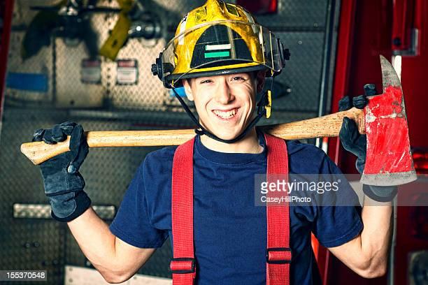 Pompier Élève officier