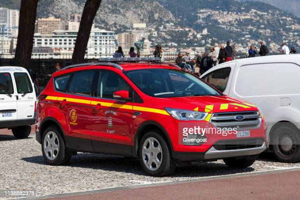 Firefighter car in Monaco