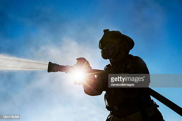 firefighter - fire station stock photos and pictures