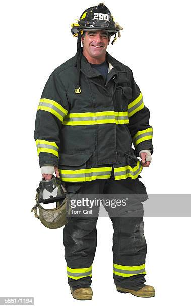 firefighter - fire protection suit - fotografias e filmes do acervo