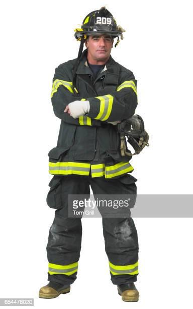 firefighter - fire protection suit - fotografias e filmes do acervo