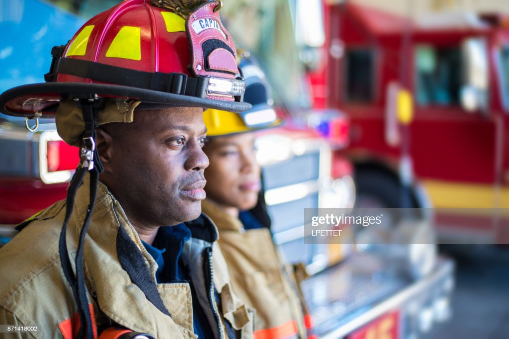 Firefighter : Stock Photo