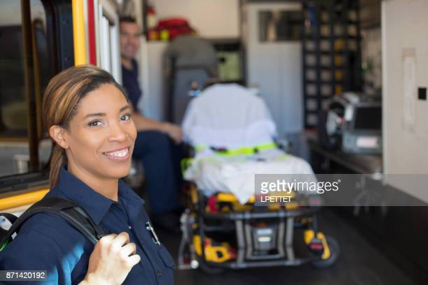 firefighter - paramedic stock pictures, royalty-free photos & images