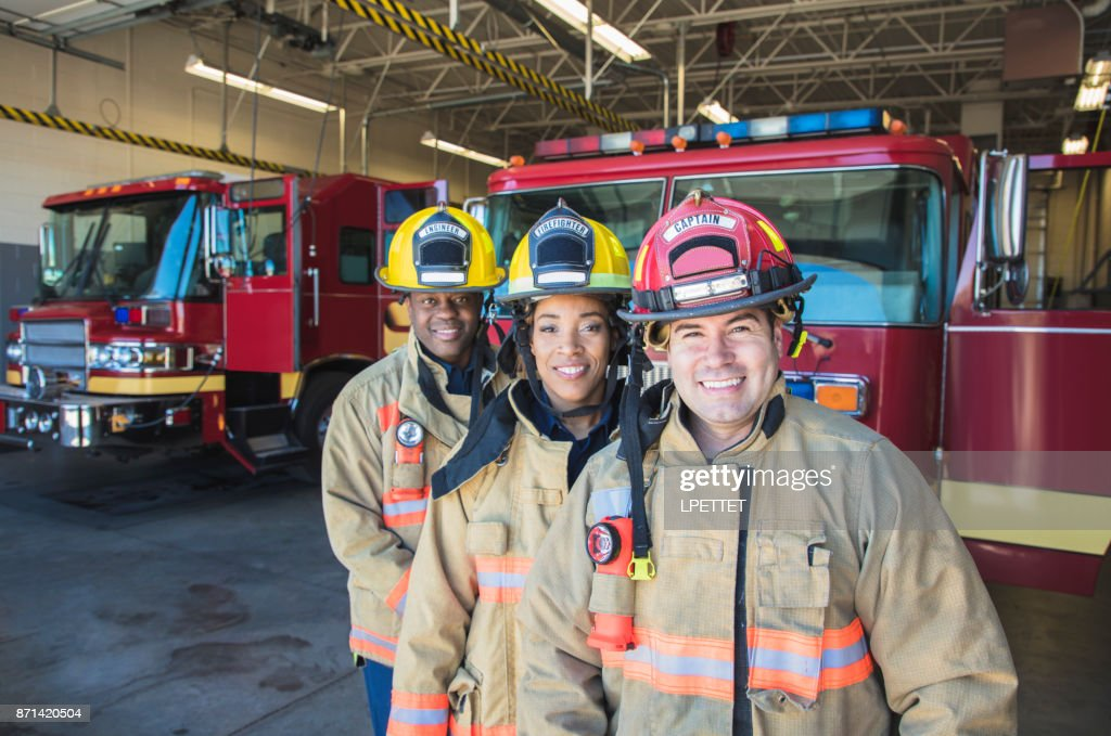 Firefighter : Stock Photo